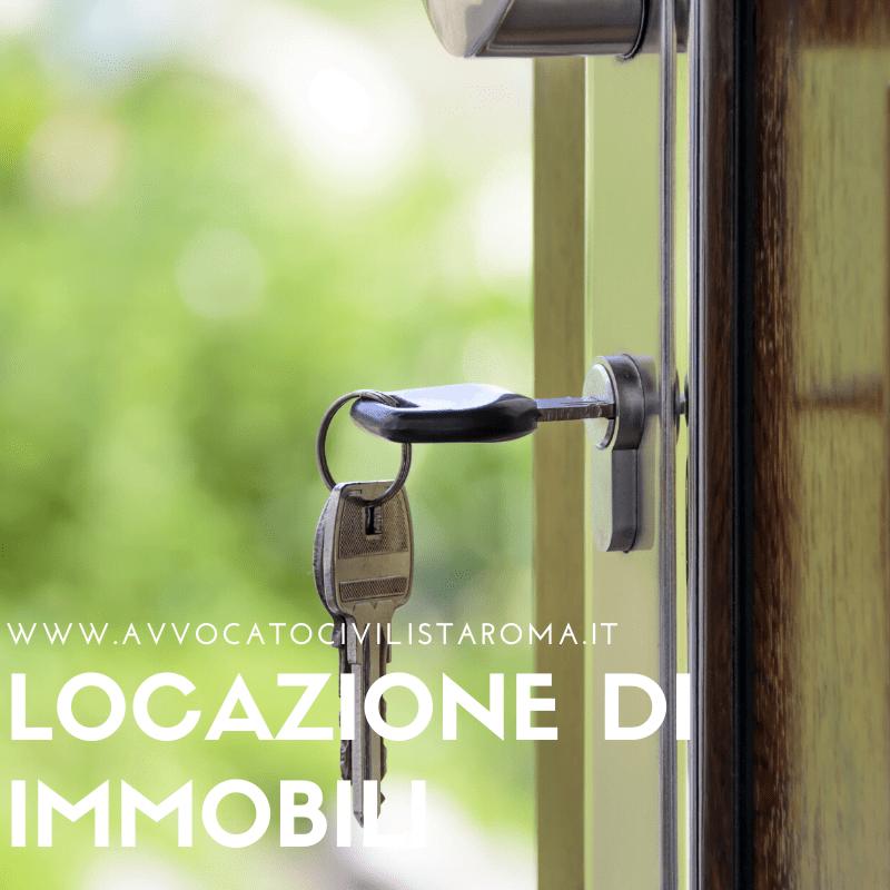 avvocato locazione sfratto occupazione immobili roma
