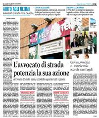 """16.02.13 Rassegna stampa. Parte anche a Foggia il progetto """"Diritti a sud"""""""