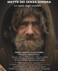 """16.11.13 Raccolta coperte, musica, teatro e tanto altro. Fa tappa a Parma la """"Notte dei senza dimora"""""""