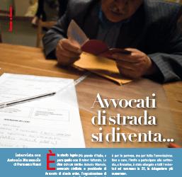 """Segno nel mondo intervista Antonio Mumolo: """"Avvocati di strada si diventa…"""""""
