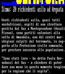 Sisma in centro Italia e volontariato