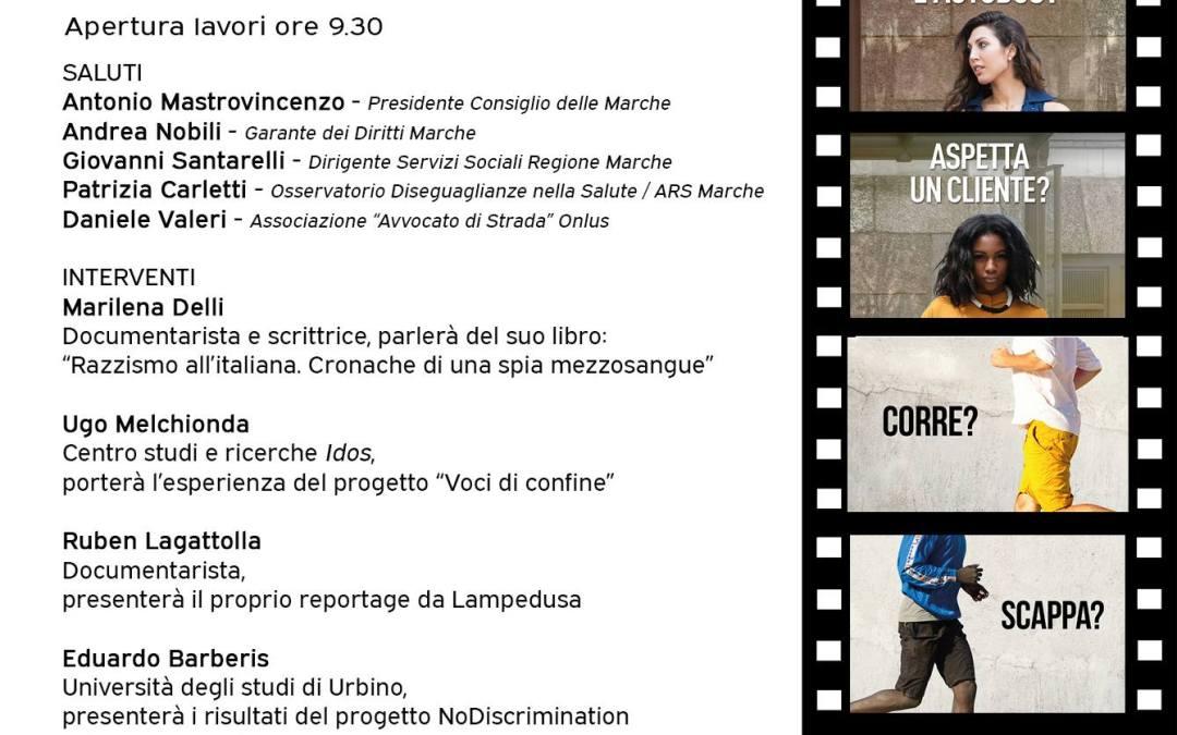 No Discrimination Marche, evento conclusivo del progetto