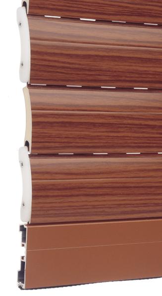 Disponibili anche nella versione mini (più piccole). Avvolgibile Alluminio Coibentato Alta Densita 14x55 Mm T Legno Far Srl