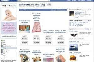 BabyandMeGifts Facebook Store