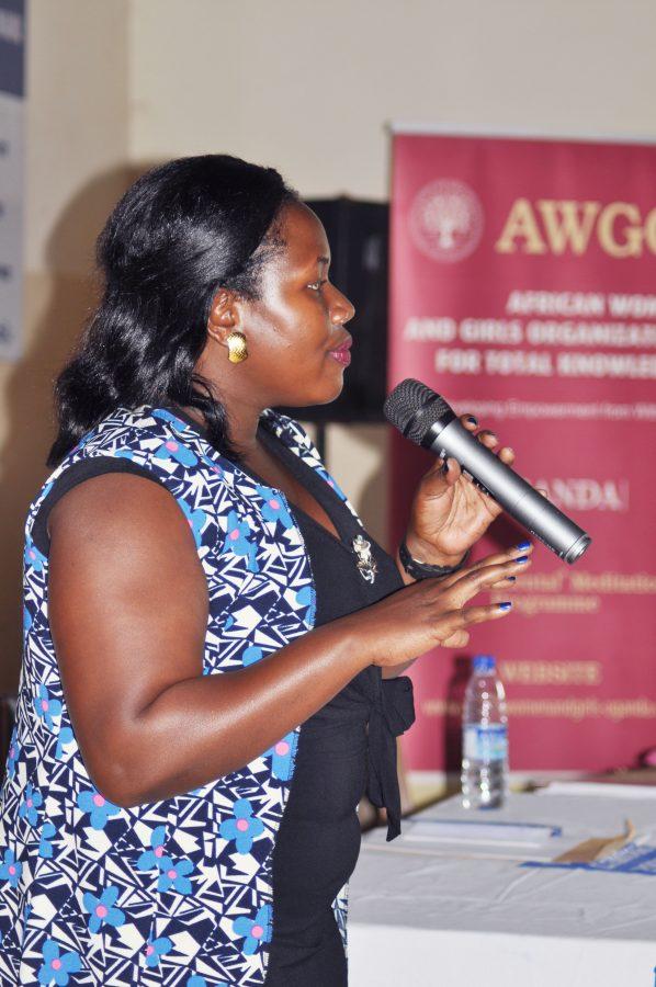 Ms Teddy from AWAGO