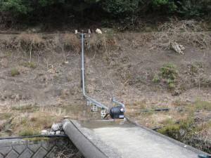ペルトン式水力発電機