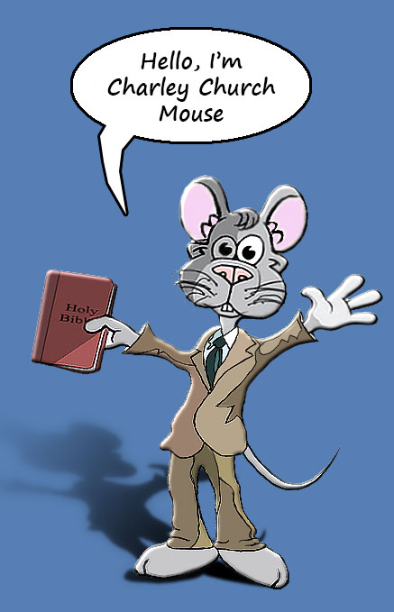 Charley Church Mouse - Bible