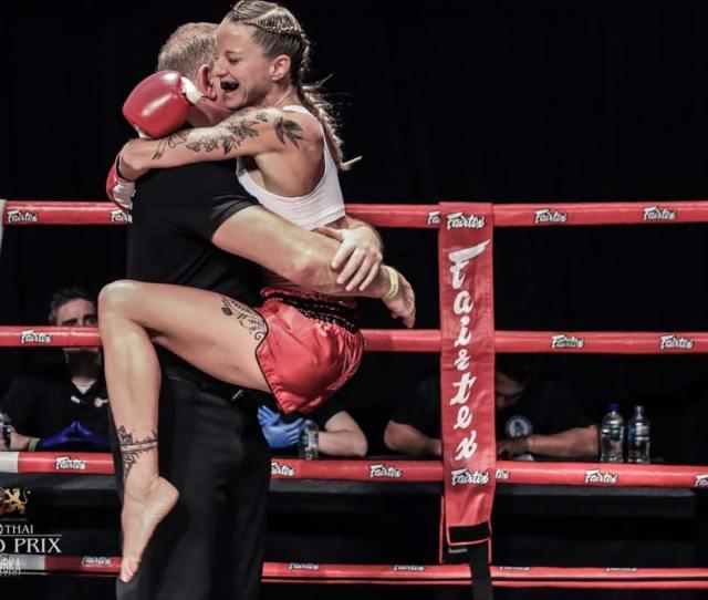 Kelly Haynes At Muay Thai Grand Prix By Radowska Photography