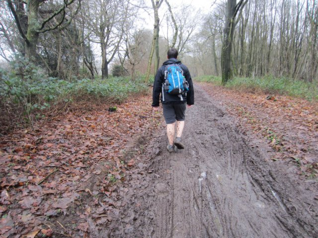Super muddy path