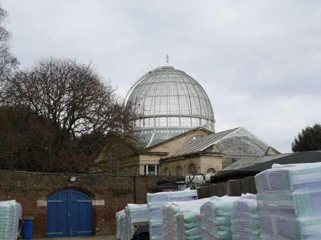 Syon House - seen through the garden centre!
