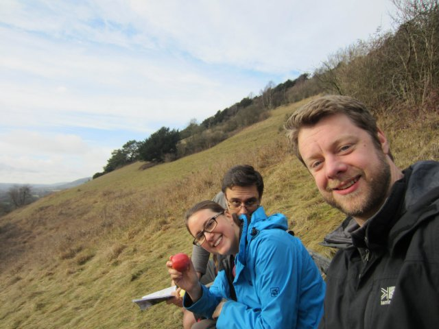 Lunch on the North Downs Way Dorking to Merstham