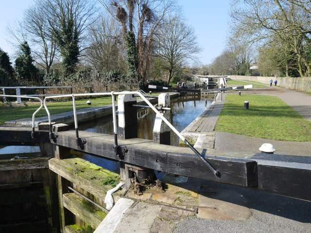 Hanwell flight of locks
