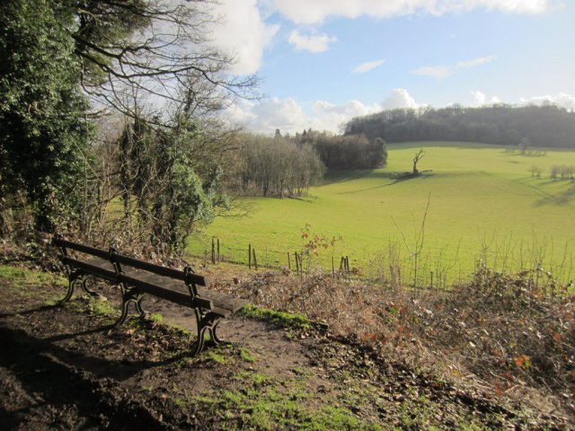 There is another bench after Gatton Park