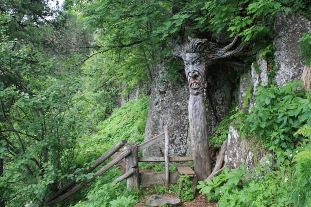 Slightly creepy witch tree