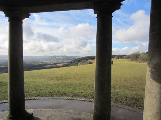 The view from the folly