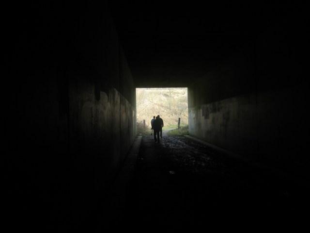 Creepy tunnel under the M23