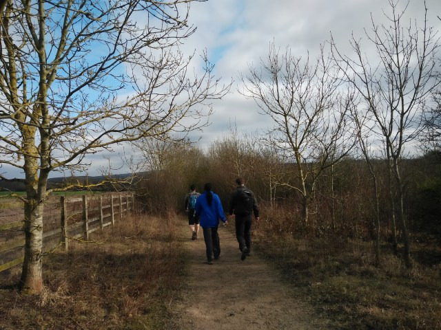 The path to the M25