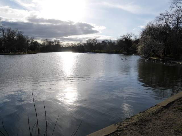 The pond in Crystal Palace park