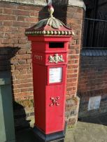 Harrow on the Hill has posh post boxes!