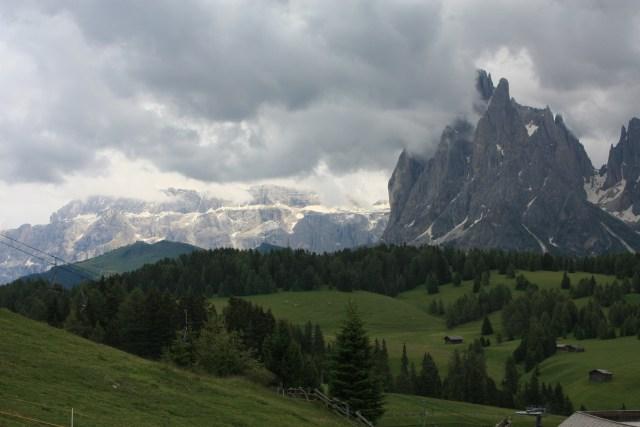 Rolling hills in Alpe di Siusi /Seiser Alm