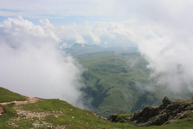 Mt Bulacia through the clouds