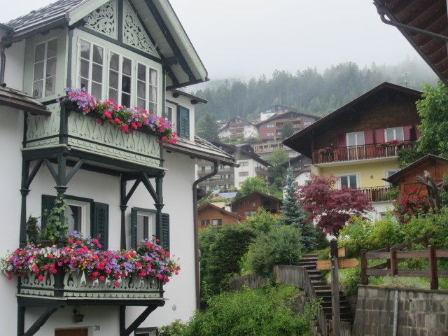 St Ulrich / Ortisei - even pretty in the rain