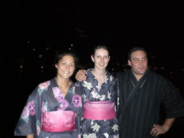 Gillian, Alaina and Lux