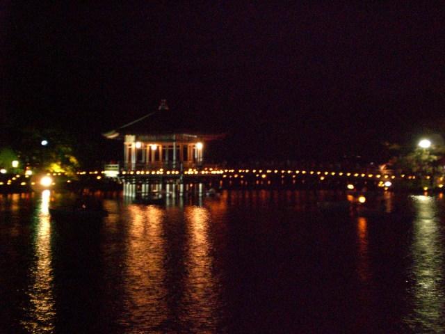 The pavillion on Ara-ike