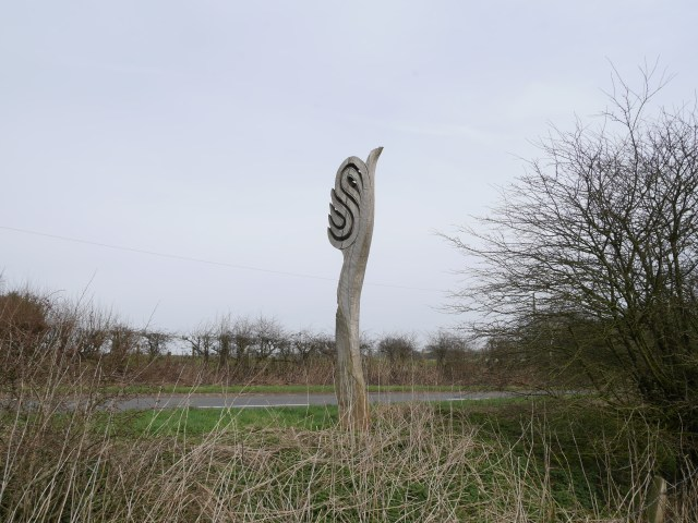 The Surrey Hills AONB sign
