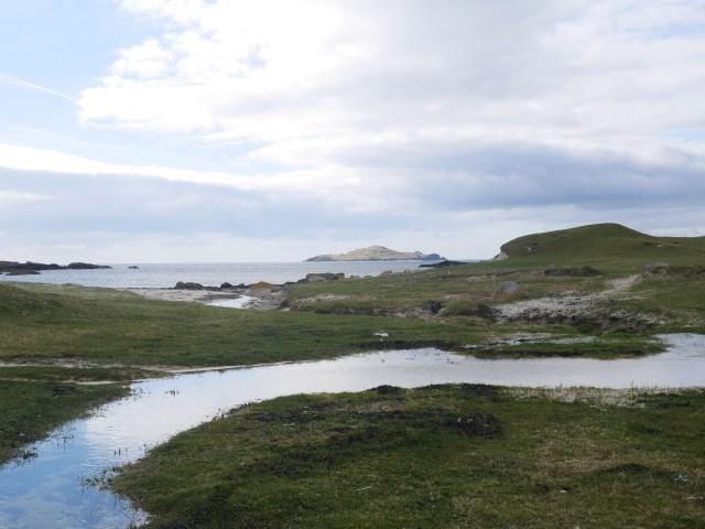 Stream on Omey island