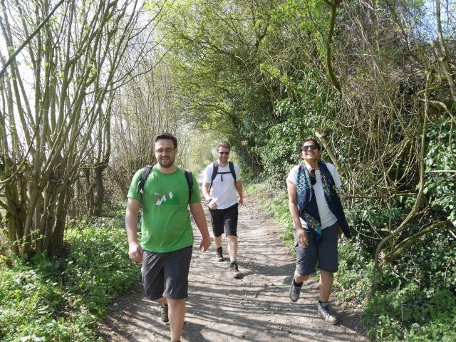 The Pilgrims way to Wrotham