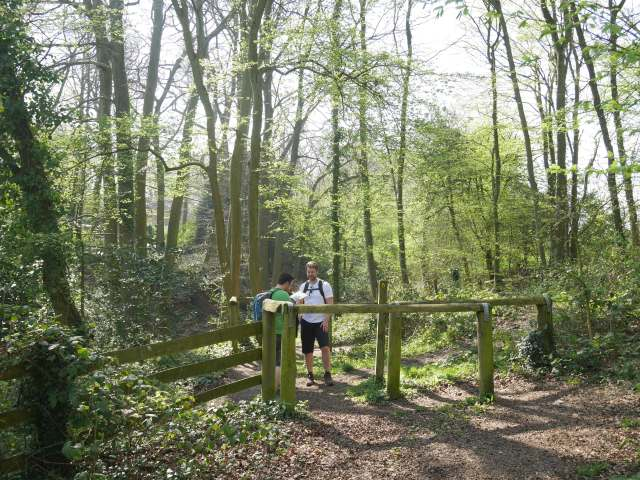 The way to Trosley Country Park
