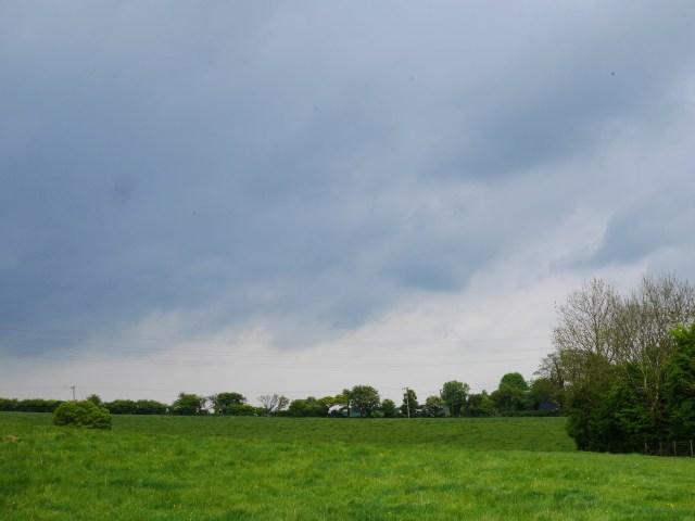 Amazing moody sky