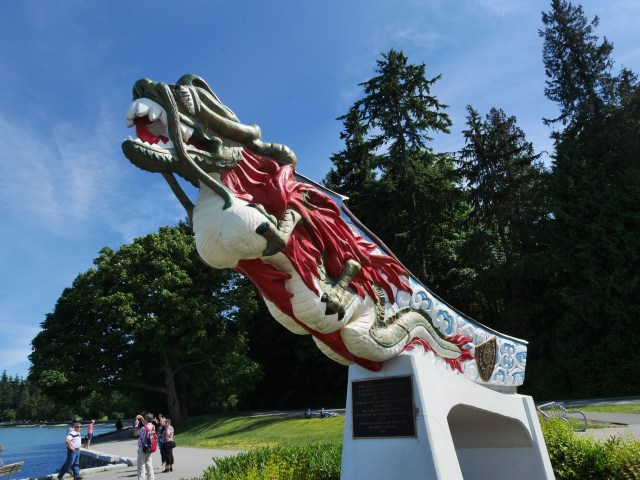 Empress of Japan's dragon figurehead