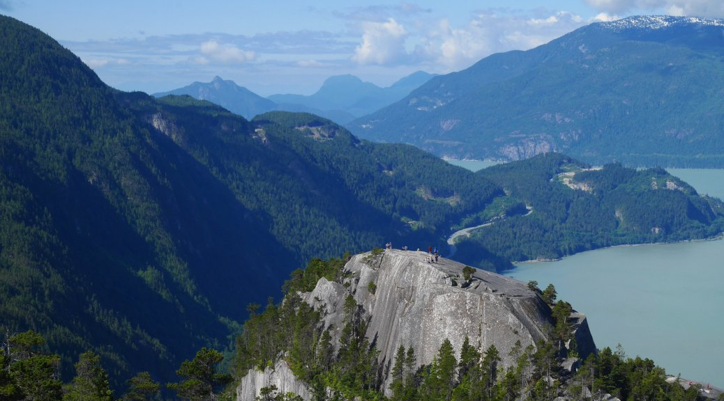 Stawamus Chief view