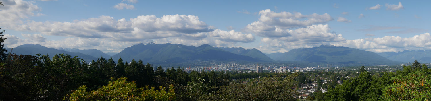 North Shore Mountain View from Vancouver