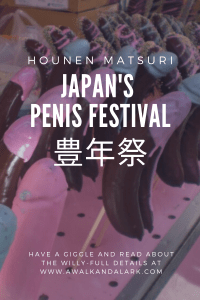 The Penis Festival has such good snacks! Hounen Matsuri in Aichi, Japan