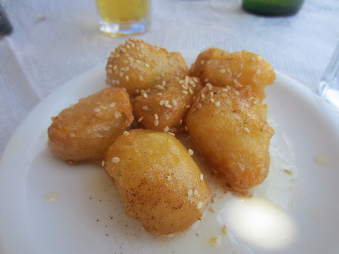 fried sweet cheese