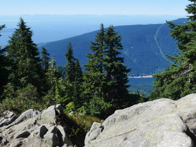 Cypress Mountain from Dam Mountain