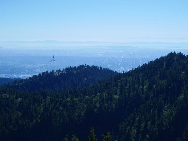 Grouse Mountain from Goat Mountain