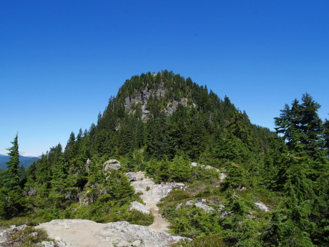 Goat Mountain from Little Goat Mountain