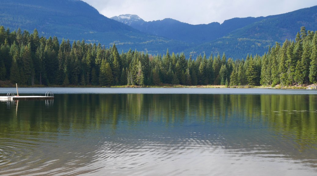 Lost Lake in Whistler - sooo pretty!