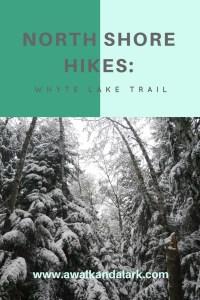 Whyte Lake trail
