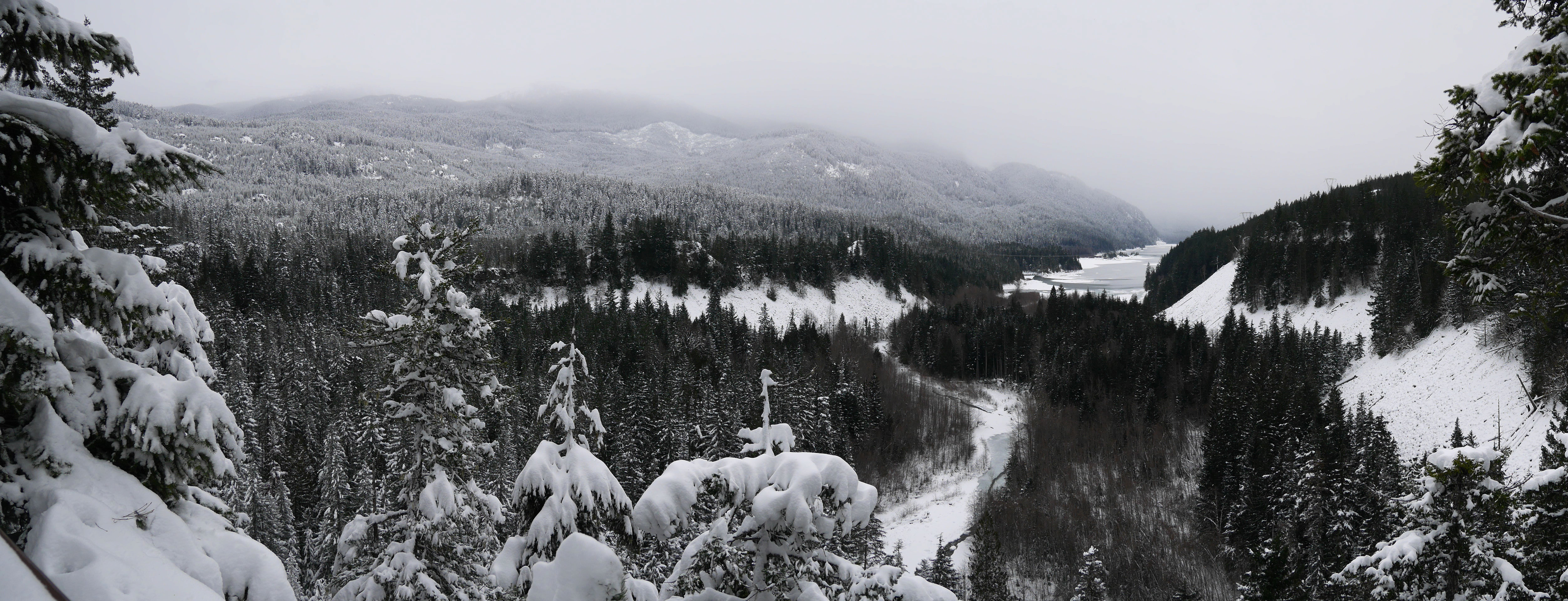 Panorama towards Whistler
