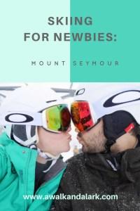 Learning to ski - Mount Seymour