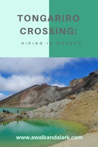 Tongariro Crossing - Hiking through Mordor