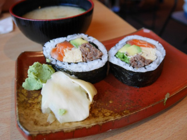 Tekapo sushi