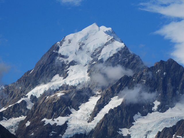 The gorgeous Aoraki / Mount Cook