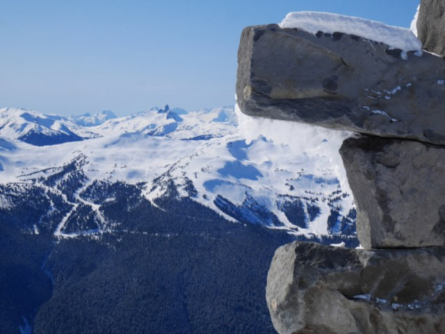 Black Tusk from Blackcomb