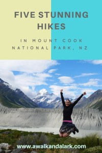 Five stunning hikes in Aoraki Mount Cook National Park
